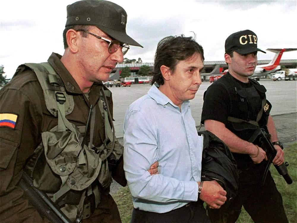 Fabio Ochoa captured