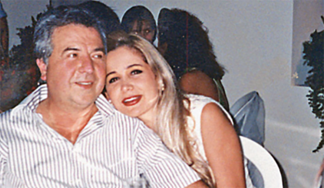 Gilberto Rodriguez Orejuela with his wife