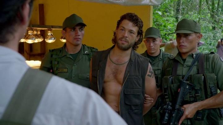 carlos lehder in the serie narcos