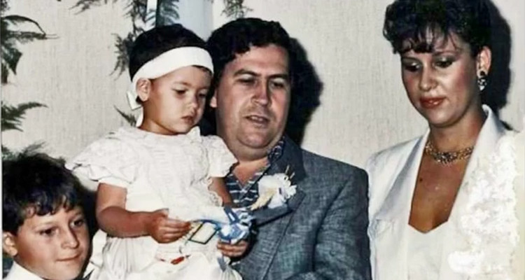 pablo escobar and family