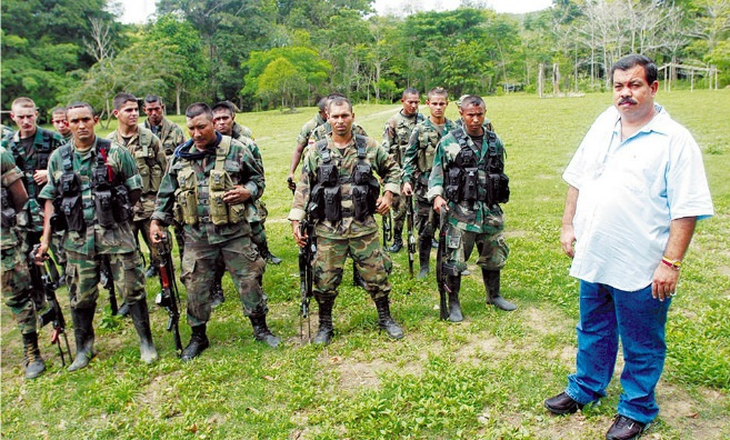 Don berna nd the United Self-Defense Forces of Colombia