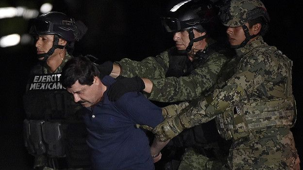 El Chapo guzman is extradited