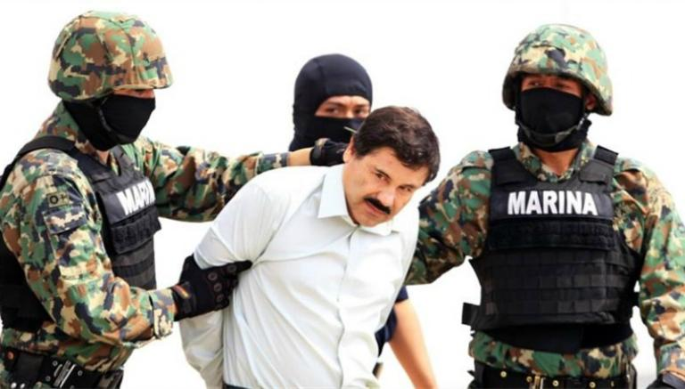 El chapo second capture
